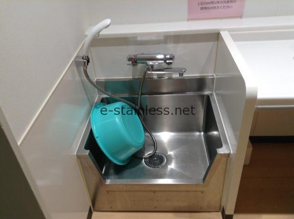 足洗シンク、フットケアシンクの使用状況確認