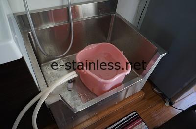 フットケアシンク、足洗シンク設置状況